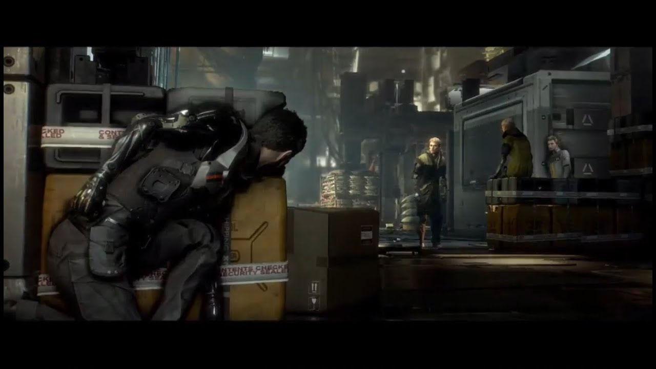 deus ex mankind divided in engine demo at e3 2015 youtube