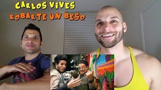 Carlos Vives, Sebastian Yatra - Robarte un Beso [REACTION]