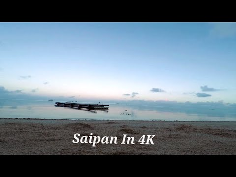 Meditation Above the Deepest Part of Ocean: Saipan In 4K
