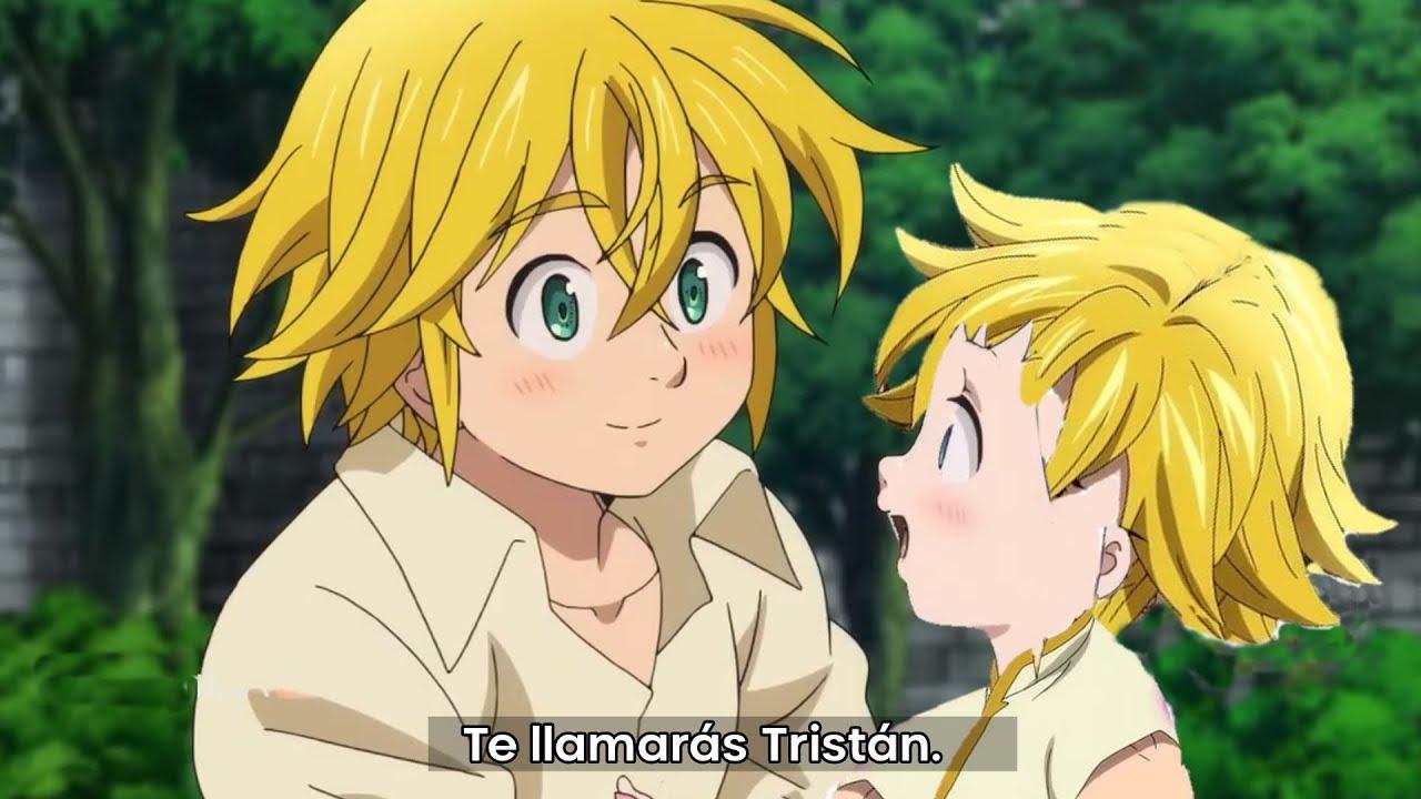 Tristan Nanatsu No Taizai - ¡PAREN TODO! LOS HIJOS DE MELIODAS Y BAN *TRISTÁN Y ...