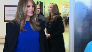 First Lady Reads Dr. Seuss To Hospitalized Kids