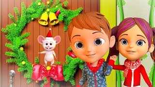 Deck The Halls | Christmas Songs & Music | Preschool Nursery Rhymes & Kids Songs