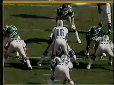 1982 Wk 15 Dolphins Defeat Jets 20-19; Highlights With Radio Call