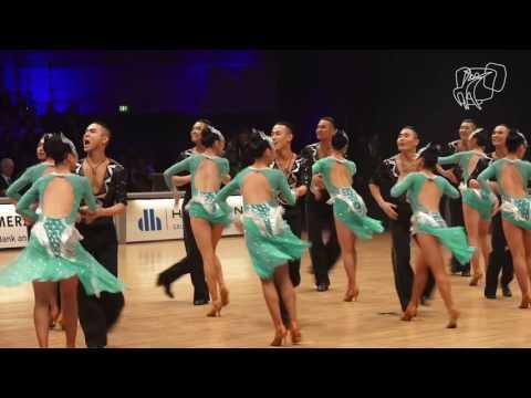 Moon Dance, MGL | 2016 World Formation Latin | DanceSport Total