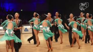 Moon Dance, MGL | 2016 World Formation Latin | DanceSport Total