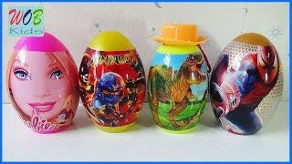 Mở Trứng Bất Ngờ Khủng Long | Surprise Dinosaurs Eggs Toy For Kids | WOB KIDS