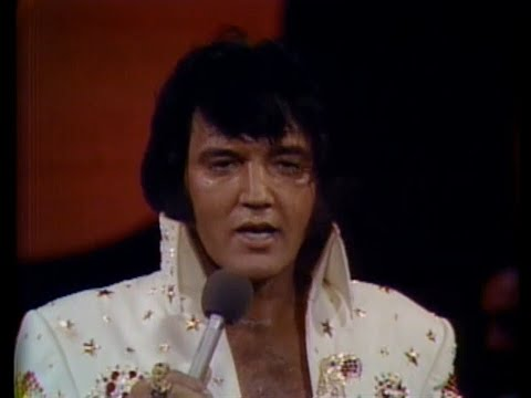 Elvis Presley - Bridge Over Troubled Water (ALOHA FROM HAWAII, live 1973)