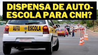FIM DA OBRIGATORIEDADE DE FREQUENTAR AUTOESCOLA PARA TIRAR CARTEIRA NACIONAL DE HABILITAÇÃO? thumbnail