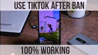 How to use TikTok after Ban to delete your videos/Account
