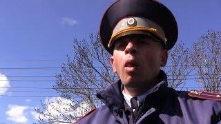 Москвичка в шоке от 'работы' ГАИ Симферополя!