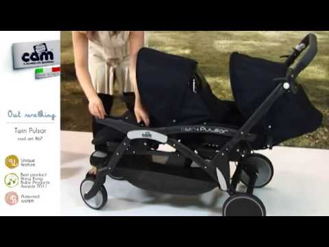 Коляска для двойни Peg-Perego Duette Piroet Pop-Up Classico в .