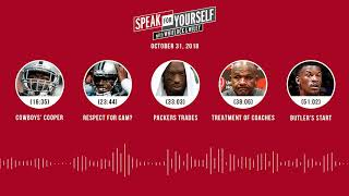 SPEAK FOR YOURSELF Audio Podcast (10.31.18)with Marcellus Wiley, Jason Whitlock | SPEAK FOR YOURSELF