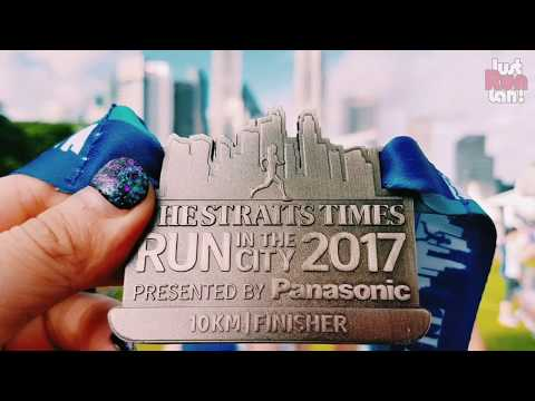 The Straits Time Run in the City 2017