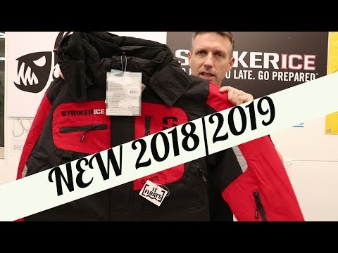 Striker Ice Climate Jacket Bibs Gloves NEW For 2018