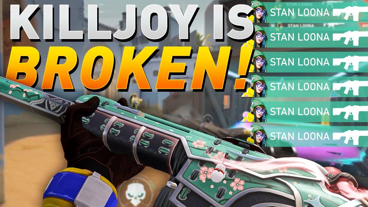 VALORANT - Killjoy is ACTUALLY BROKEN! - Killjoy Ranked Gameplay