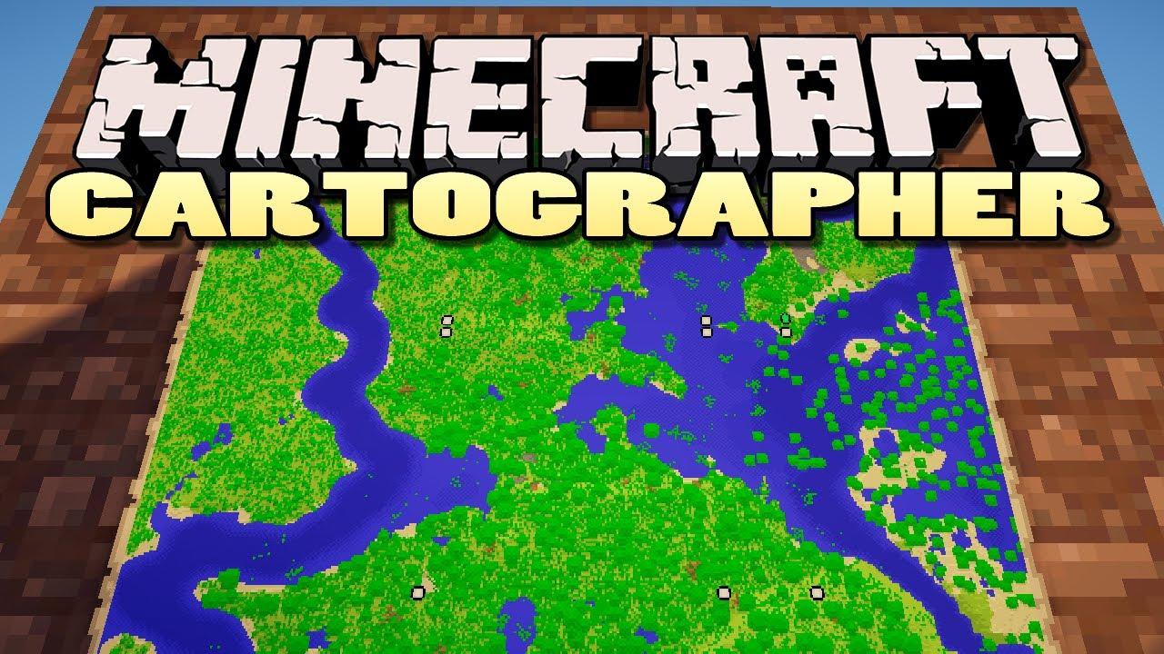 Картограф для Minecraft на Python | Механический мир
