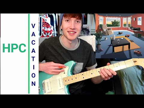How To Play Hippo Campus- Vacation (Guitar Lesson!)
