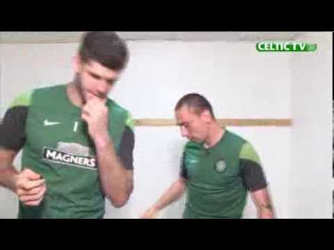 Celtic FC - Fraser Forster And Scott Brown Outtakes