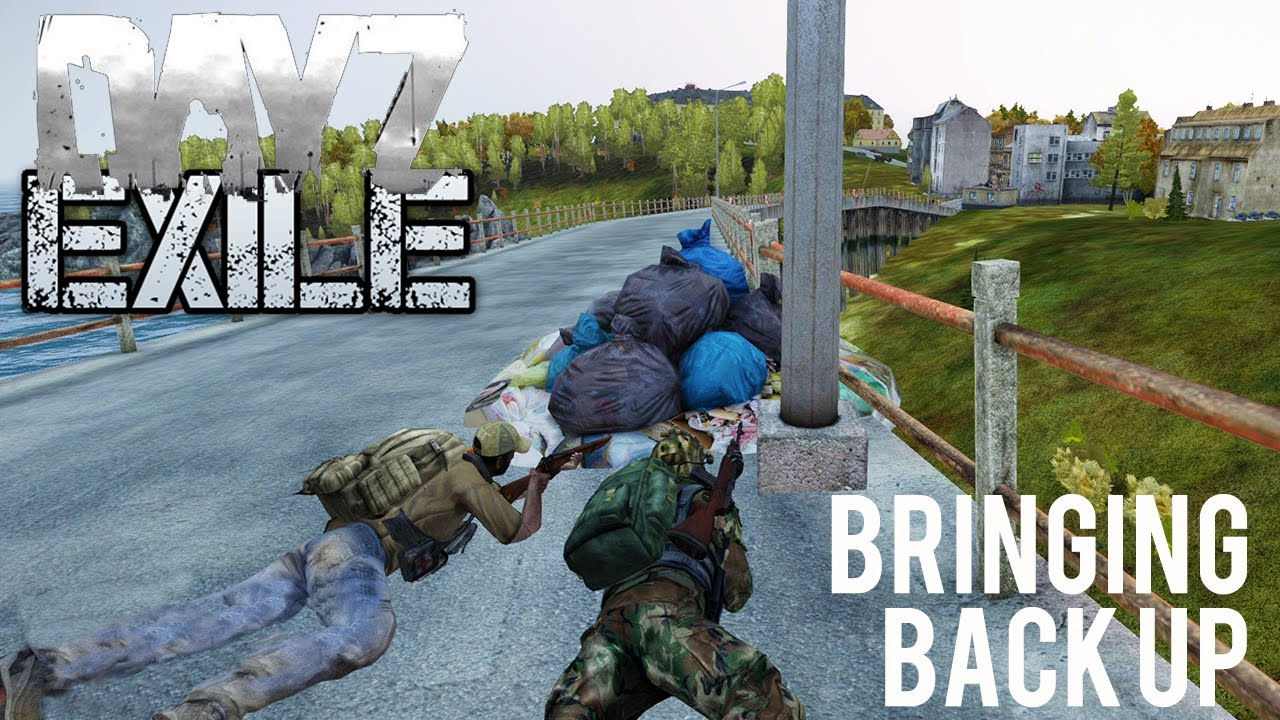 Arma 3 Exile DayZ Mod - A2 Mod Recreation - First Impressions - Part 4 -  Bringing Back Up