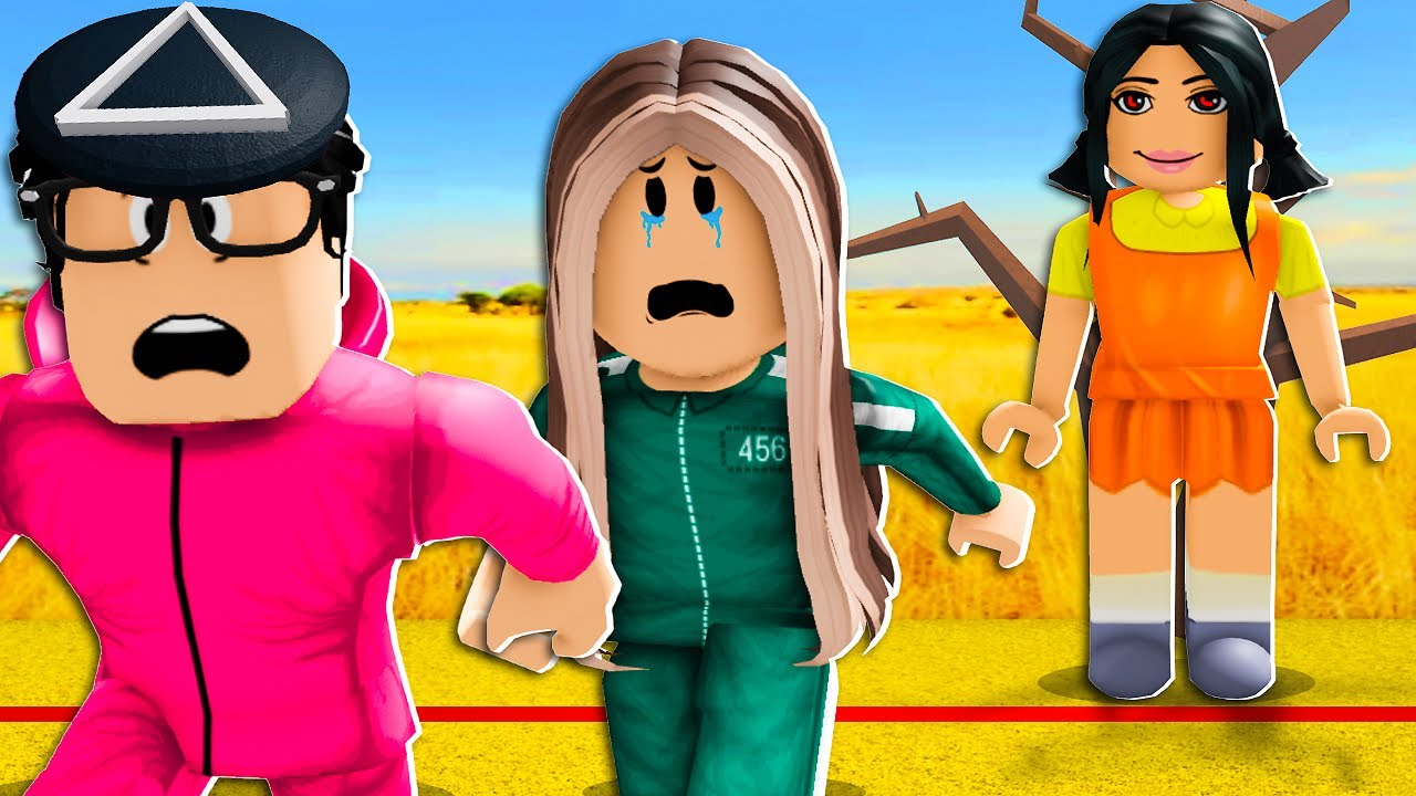 Download I Saved My GIRLFRIEND From SQUID GAME! (Roblox)
