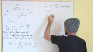 filtrage linéaire / III-1 filtre passe-bas du premier ordre