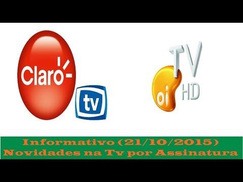Novidades na Claro Tv e Oi Tv