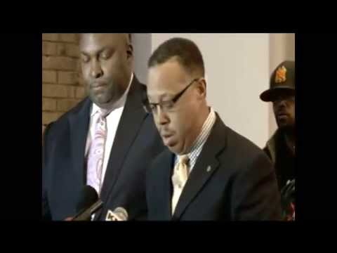 Michael Brown family news conference