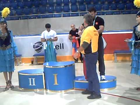 Armenian Vrej Sedrakyan  Champion Of The World 2011 WAF Kazakhstan Almaty ...
