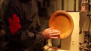 Turning a Wooden Platter with Glenn Lucas
