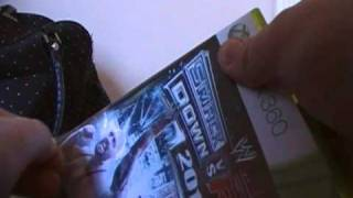 Unboxing Smackdown Vs. Raw 2011