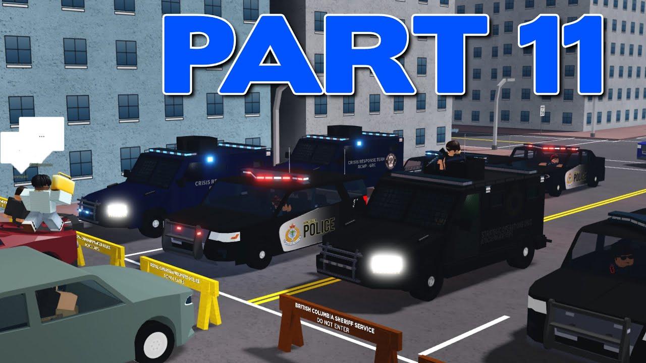 ROBLOX Vancouver RCMP Patrol Part 11 | Full City Lockdown!