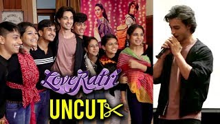 Aayush Sharma Warina Hussain At KC College | UNCUT | Loveratri Promotions | FULL EVENT