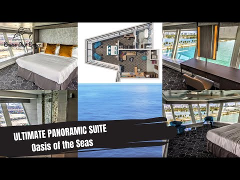 Ultimate Panoramic Suite | Amplified Oasis of the Seas