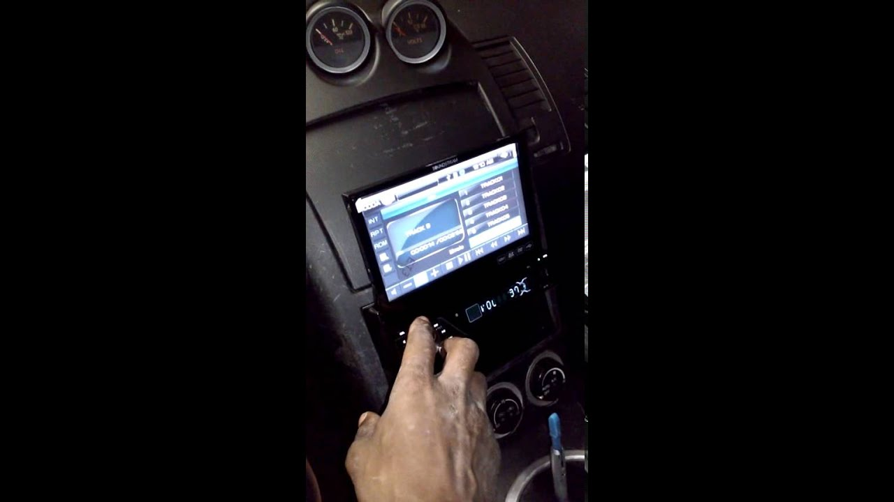 maxresdefault 350z tv radio install soundstream vir 7830 youtube soundstream vir 7830b specs wiring diagram at mifinder.co