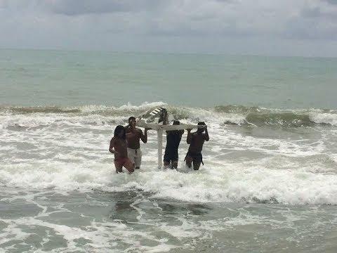 DM News :: Globocop cai em praia de Recife, duas pessoas morreram e uma está em estado grave