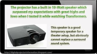 DLP Projector Review - Optoma HD141X Full 3D 1080p 3000 Lumen DLP Home Theater Projector