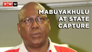 Former ANC KwaZulu-Natal deputy chairperson Mike Mabuyakhulu appeared before the State Capture Commission of Inquiry after corruption allegations were made against him. Forensic auditor Trevor White previously testified at the commission that Mabuyakhulu accepted a one million donation linked to a corrupt government contract.    #StateCapture #Mabuyakhulu