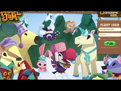 ANIMAL JAM ITEM GENERATOR ( NEW VIDEO UP WITH FIXED )