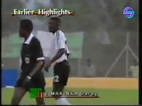 Kalusha Bwalya goal at AFCON 92 Vs Egypt