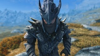 Skyrim: THE MIGHTIEST ARMOR - Dragonscale Armor, Dragonbone Weapons & Armor - Elder Scrolls Lore thumbnail