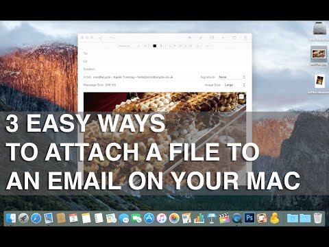 How To Attach A File To An Email On Mac OS X - Apple Training