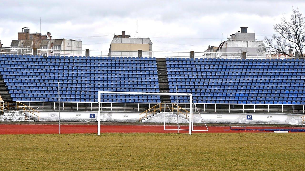Інспектування реконструкції стадіону «Трудові резерви»