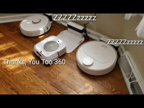 Bickering Robots cleaning the house!!!! Roomba s9, 360 s6, Braava Jet m6, Roborock s5