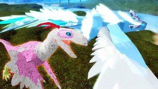 Roblox Dinosaur Simulator - NOVO BALAUR E SUAS ANIMAÇÕES NOVAS! (Wind Bringer Balaur)