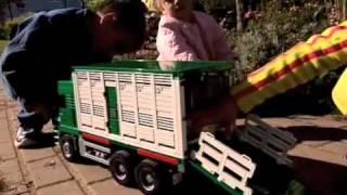 MOMAMINI BRUDER Camión Man para el transporte de ganado