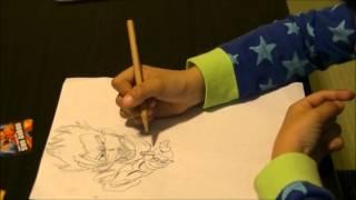 小学校3年生のお兄ちゃんが画家になりたいから、描く練習として、絵カ...