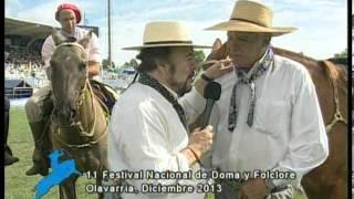 Entrevista a Carlos Sotelo, Capataz de campo en el 11 festival Nac. de Doma y Foklore de Olavarria