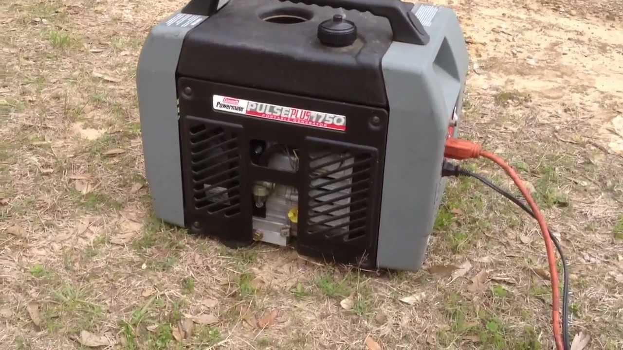 coleman power mate plus 1750 youtube rh youtube com coleman powermate 1850 generator parts coleman powermate sport 1850 plus generator manual