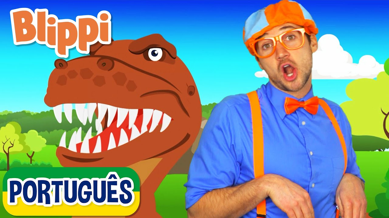 Aprenda os Nomes dos Dinossauros | Vídeos Educativos para Crianças | As Aventuras de Blippi