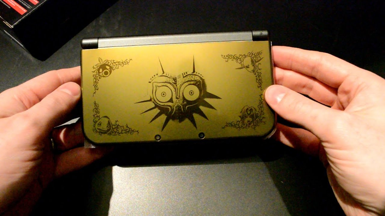 Unboxing New Nintendo 3ds Xl Majora S Mask Edition Youtube